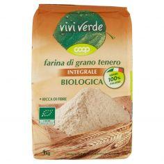 Coop-farina di grano tenero Integrale Biologica 1 kg