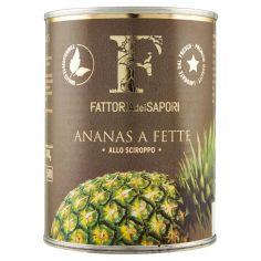 FATTORIA DEI SAPORI-Fattoria dei Sapori Ananas a Fette allo Sciroppo 565 g