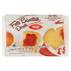 Coop-Fette Biscottate Dorate 36 Fette 320 g
