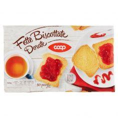 Coop-Fette Biscottate Dorate 80 pezzi 645 g