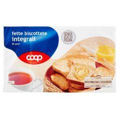 Coop-fette biscottate integrali 80 pezzi 645 g