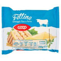 Coop-Fettine formaggio fuso a fette 8 fettine 200 g