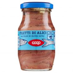 Coop-Filetti di Alici all'Olio di Oliva (41%) 150 g