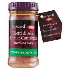 Coop-Filetti di Alici del Mar Cantabrico con Olio di Oliva (35%) 100 g