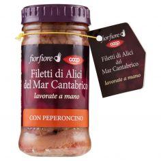Coop-Filetti di Alici del Mar Cantabrico con Peperoncino 100 g