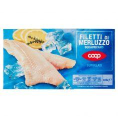 Coop-Filetti di Merluzzo Sudafricano Surgelati 400 g