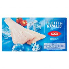 Coop-Filetti di Nasello Atlantico Surgelati 400 g
