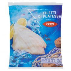 Coop-Filetti di Platessa Surgelati 400 g