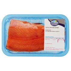 PESCHERIA NATURA-Filetto di Trota Iridea Salmonata 0,180 kg