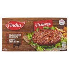FINDUS-Findus 4 Beefburger 400 g