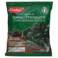 FINDUS-Findus Ciuffetti di Spinaci Primavera 450g