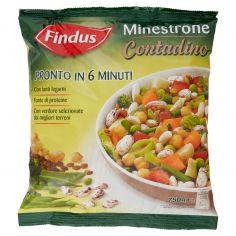 GRAN MINESTRONE 6 MINUTI-Findus Minestrone Contadino 750 g