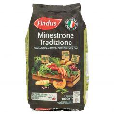 FINDUS-Findus Minestrone Tradizione - con Verdure IGP e DOP 1000g