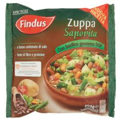 FINDUS-Findus Zuppa Saporita con Basilico Genovese DOP 500g
