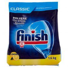 FINISH-finish Classic Polvere con Effetto Ammollo Limone 1,6 kg