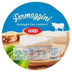 Coop-Formaggini formaggio fuso a porzioni 8 x 17,5 g