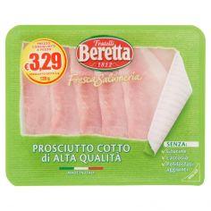 BERETTA-Fratelli Beretta Fresca Salumeria Prosciutto Cotto di Alta Qualità 120 g
