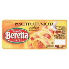 BERETTA-Fratelli Beretta Pancetta affumicata a cubetti 2 x 75 g