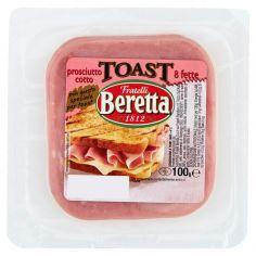 BERETTA-Fratelli Beretta Prosciutto cotto Toast 100 g