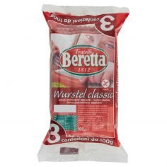 BERETTA-Fratelli Beretta Wurstel classici 3 x 100 g