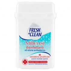FRESH&CLEAN-Fresh & Clean Milleusi disinfettanti 40 salviettine umidificate