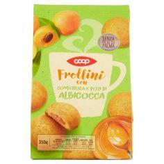 Coop-Frollini con Confettura e Pezzi di Albicocca 350 g