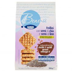 Coop-Frollini con semi di chia e semi di lino 300 g