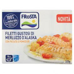 FROSTA-Frosta Filetti Gustosi di Merluzzo d'Alaska con Patate e Pomodori 320 g