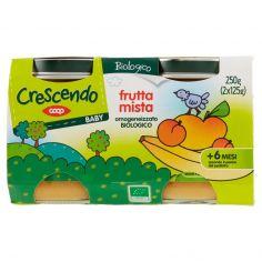 Coop-frutta mista omogeneizzato Biologico 2 x 125 g