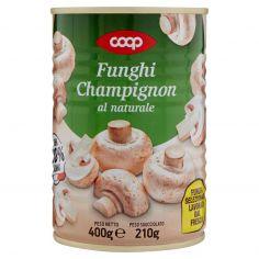Coop-Funghi Champignon al naturale 400 g