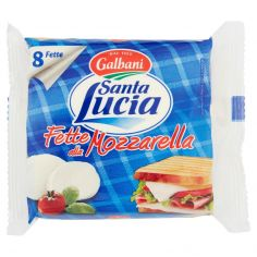 SANTA LUCIA-Galbani Santa Lucia Fette alla Mozzarella 8 Fette 200 g