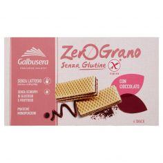 ZERO GRANO-Galbusera ZeroGrano Senza Glutine con Cioccolato 4 x 45 g