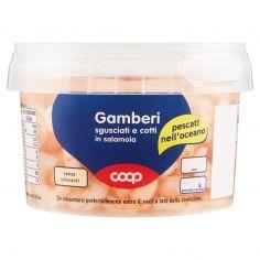Coop-Gamberi sgusciati e cotti in salamoia 240 g