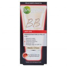SKIN ACTIVE-Garnier BB Cream Anti-età Crema viso idratante 5in1 con Pro-Xylane, Medio-Chiara - 50 ml