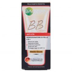 SKIN ACTIVE-Garnier BB Cream Anti-età Crema viso idratante 5in1 con Pro-Xylane, Medio-Scura - 50 ml