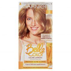 BELLECOLOR-Garnier Belle Color Colore Luminoso, Tinta per Capelli Bianchi 2 Biondo Naturale