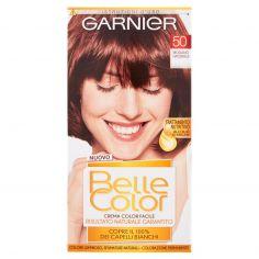 BELLECOLOR-Garnier Belle Color Crema Color Facile 50 Mogano Naturale