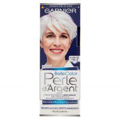 BELLECOLOR-Garnier Belle Color Perle d'Argent per Illuminare e Ravvivare il Grigio e il Bianco, Bianco Perla