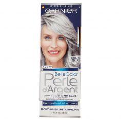 BELLECOLOR-Garnier Belle Color Perle d'Argent per Illuminare e Ravvivare il Grigio e il Bianco, Grigio Perla