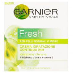 SKIN ACTIVE-Garnier Fresh Crema idratazione continua 24h per pelli normali o miste 50 ml