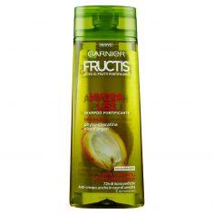 FRUCTIS-Garnier Fructis Shampoo Hydra Liss&Shine con amino-cheratina e olio d'argan, 250 ml