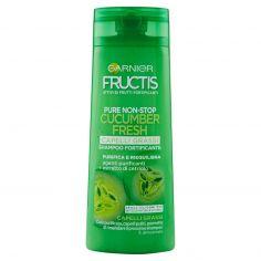 FRUCTIS-Garnier Fructis Pure Non-Stop Cucumber Fresh Capelli Grassi Shampoo Fortificante 250 ml