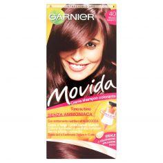 MOVIDA-Garnier Movida crema shampoo colorante 40 bruno ramato