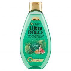 ULTRADOLCE-Garnier Ultra Dolce Bagnodoccia Fico e Zucchero di Canna - Bagnoschiuma purificante - 500 ml