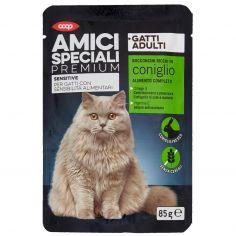 Coop-Gatti Adulti Sensitive Bocconcini Ricchi in coniglio 85 g