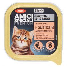 Coop-Gattini 2-12 Mesi Mousse Ricca in salmone 85 g