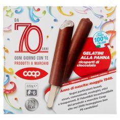 Coop-Gelatini alla Panna ricoperti di cioccolato Edizione Limitata 6 x 37 g