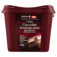 Coop-Gelato Cioccolato fondente extra Repubblica Dominicana 300 g