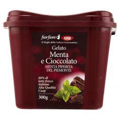 Coop-Gelato Menta e Cioccolato Menta Piperita del Piemonte 300 g