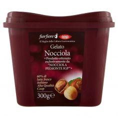 "Coop-Gelato Nocciola «Prodotto ottenuto esclusivamente da ""Nocciola Piemonte IGP""» 300 g"